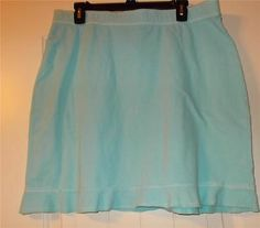 Fresh Produce AHLAS Athletic Skirt w/ Ruffles Skye Blue New With Tags Size XL