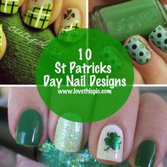 Learn more about St Patricks Day Nail Designs