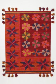 Anthropologie  Barranco Rug  Inspired by traditional Peruvian weaving