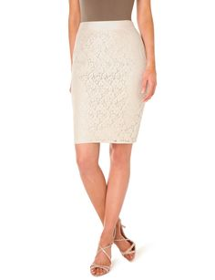 high waist lace pencil skirt from the limited. love. - couldn't pass this up today :)