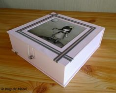 Les cartonnages de Manel / boite rose