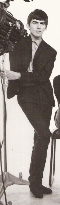 George Harrison, cropped and scanned from the cover of With The Beatles: The Historic Photographs of Dezo Hoffmann