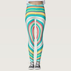 Multi-Colored Curves Pattern