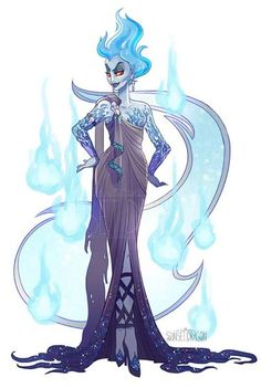 Hades by Sunset Dragon. Hades Disney, Evil Disney, Disney Hercules, Disney Style, Disney Love, Disney Fan Art, Disney Villains Art, Harry Potter Disney, Disney E Dreamworks