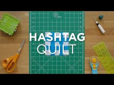 Make a Hashtag Quilt Block - Quilt Snips (Missouri Star Quilt Company - YouTube)