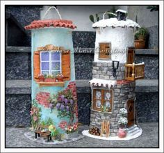 Doll House Crafts, Roof Tiles, Fairy Houses, Miniature Dolls, Terracotta, Hd Wallpaper, Miniatures, Pottery, Table Decorations