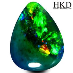 Certificate HKD Gem: Opal Carats : Color: Black with multicolour reflections Dimensions in mm: x x Purity: VVS Shape: Cabochon Refraction index: - Provenance : Ethiopia Will be sent with registered code Black Opal, Gems, Color, Colour, Rhinestones, Gemstones, Jewels, Paint, Colors