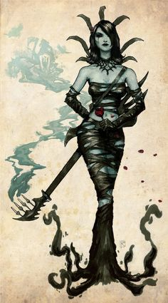 Brutal Legend drowned Ophelia