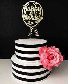birthday cake topper balloon cake topper