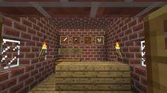 Interior Minecraft Blacksmith Design