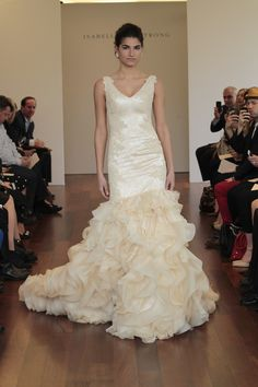 Romantic ruffles from Isabelle Armstrong {photo: Dan Lecca}