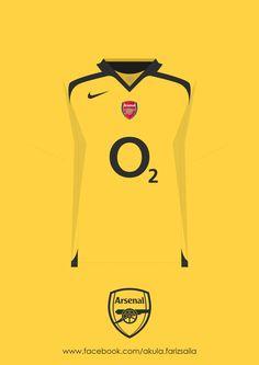 Arsenal 2005-2015 Kit Collection by Fariz Saila, via Behance @Ivan Cherevko Cherevko Cherevko Cherevko Cherevko Cherevko Cherevko Abundis