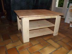 creation table basse Instructions de montage...