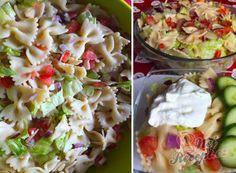 Večeře pro štíhlý pas: 10 vynikajících receptů na saláty, které Vás zbaví zbytečných kil navíc. | NejRecept.cz Pasta Salad, Potato Salad, Potatoes, Ethnic Recipes, Food Ideas, Fitness, Decor, Top Recipes, Yogurt
