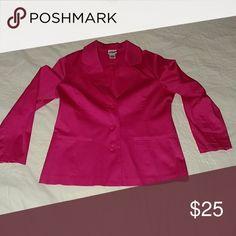 BFA classics blazer Deep pink 3 buttons 2 pockets BFA classics  Jackets & Coats Blazers