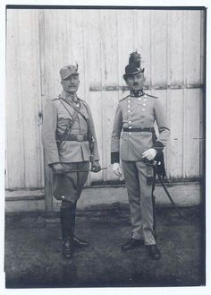Field uniform and Dress uniform Austro-Hungarian Mountain troops, officer.