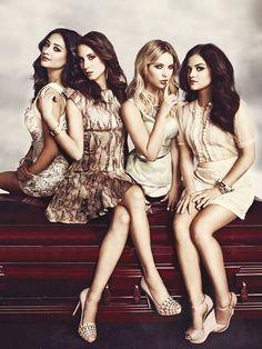 The girls from Pretty Little Liars  #prettyygirllss