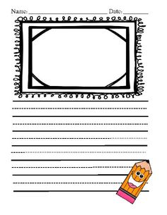 This is all occasion story paper great for a writing center or daily five. A special thanks to Kristen Wallden at Creative Clips for the images.
