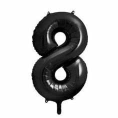 Folienballon Zahl schwarz Sag Ja, Happy Birthday, Cake Toppers, Xl, Products, Essen, Black, Happy Brithday, Urari La Multi Ani