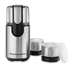 Kitchenaid Coffee Grinder | Stainless Steel Blade Coffee Grinder and Spice Grinder Pack >>> Check out the image by visiting the link.