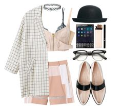 """""""Temps de travail"""" by dasha-zinina ❤ liked on Polyvore featuring Rebecca Taylor, ASOS, Only Hearts, sass & bide, Monki and Topshop"""