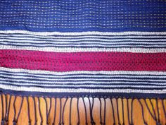 detail: 05.2014: rug for S&P! | cotton carpet warp | weft: rag: mostly thrifted wool coats 'n' blankets