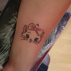 Aristocats Marie Design for Small Disney Tattoo Ideas
