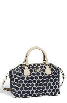 kate spade new york 'catherine street - pippa' fabric satchel available at #Nordstrom
