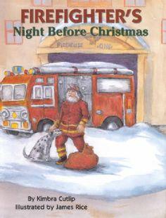 Firefighter's Night Before Christmas (Hardcover)