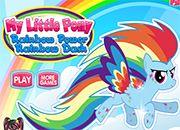 Rainbow Dash en Rainbow Power Style