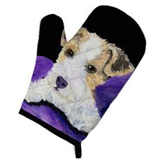 Caroline's Treasures Fox Terrier Oven Mitt