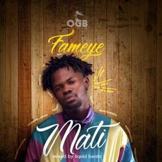 """Ghanaian Hiplife star, Fameye drops this brand new afrobeat single entitled """"Mati"""" for your listening pleasure. It is unclear if the song is coming on the of Music Covers, Album Covers, Latest Music, New Music, Music Signs, Commercial Music, Trending Songs, Audio Songs, Album Design"""