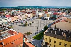 Picture of Town square in Kromeriz - Czech Republic stock photo, images and stock photography. Florida Usa, Central Florida, My Heritage, Czech Republic, Prague, Paris Skyline, Cities, Stock Photos, Country