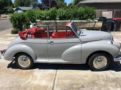 1965 Morris Minor Convertible 1098cc 4cyl for sale #1849738 | Hemmings Motor News