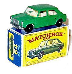 1960s Matchbox No 64 M.G. 1100 Car Mint in Box