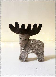 Constellation Reindeer Ornament