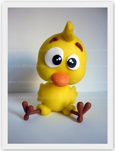 Pintinho Amarelinho by Biscuit da Pati, via Flickr