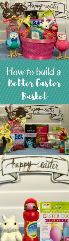 Cookwith5Kids | How to Create a Better Easter Basket | https://cookwith5kids.com