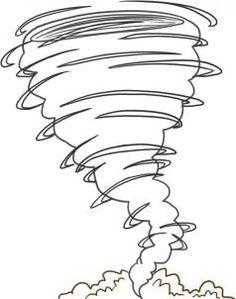 how to draw a tornado step 4