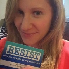 As if it needed to be any more official. @thedemocrats #theresistance #resist  Also it's 2017 and I'm still so bad at selfies hahah.