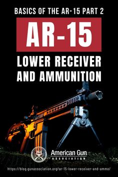 Get down to the nitty-gritty of the AR 15 lower receiver and ammunition as you learn more of the AR-15 basics here. #AR15 #AR15lowerreceiver #AR15ammunition #gunparts #gunassociation Sniper Rifles, Tactical Rifles, Survival Weapons, Survival Tips, How To Make Diy Projects, How Did It Go, Ammo Storage, Lower Receiver, Ar Pistol