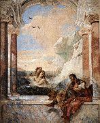 """New artwork for sale! - """" Tiepolo Villa Valmarana Thetis Consoling Achilles by Giovanni Battista Tiepolo """" - http://ift.tt/2p66xeJ"""