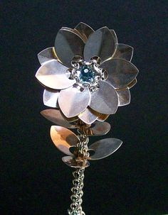 Sterling Silver Scale Flower - Discussion - TheRingLord
