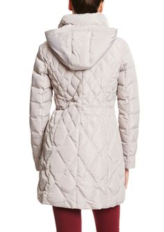 JESSICA SIMPSON Long Down Quilted Puffer Coat | ideel