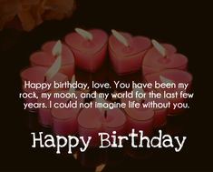 Top 50 Birthday Quotes for Husband - Quotes Yard 50th Birthday Quotes, 50 Birthday, Birthday Wishes, Birthday Cards, Birthday Wish For Husband, Life Without You, Husband Quotes, Be Yourself Quotes, Yard