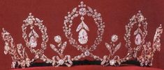 Connaught Tiara was made in 1904 by E. Wolff & Co. for Garrard for Princess Margareth of Connaught.