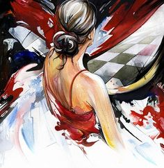 abstract, acuarela, art, color, colors, colour