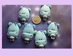 Resultado de imagen para souvenirs de hipopotamos en porcelana fria Baby Shower, Apple, Cold, Cold Porcelain, Babyshower, Apple Fruit, Apples, Baby Showers, Gender Reveal Parties