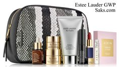 Spend $80 or more on Estee Lauder and receive this gift from Saks.com.