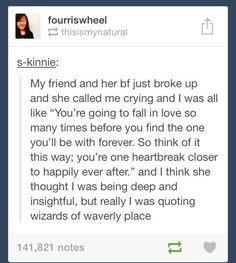 But really I was quoting Wizards of Waverly Place. - like quoting random speeches from Who haha Zack E Cody, Wizards Of Waverly Place, Lol, Funny Tumblr Posts, Just For Laughs, Laugh Out Loud, The Funny, I Laughed, Decir No